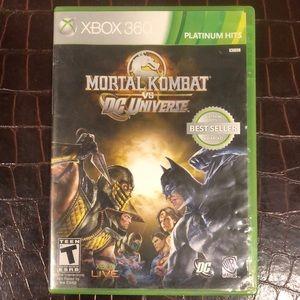 💗💗XBOX 360 game - Mortal Kombat vs DC universe